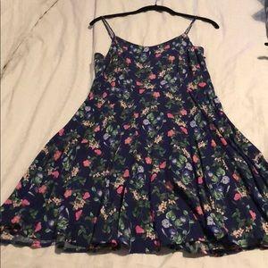 Old Navy M Blue Floral Dress